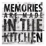 Kitchen 2 (White Background) Art Print