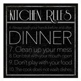 kitchen Rules 2 Art Print