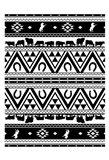 Western Aztec Art Print