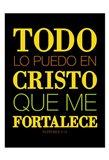 Todo Cristo Art Print