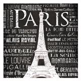 Paris Eiffel Art Print