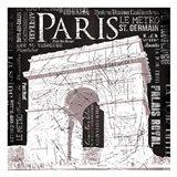 Paris Arch Art Print
