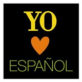 Yo Love Espanol Art Print