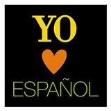 Yo Love Espanol Art Print
