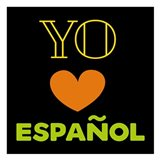 Love Espanol Art Print