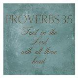 Trust In The Lord Art Print