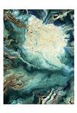 Neo Teal 1 Art Print