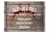 Sleigh Rides Art Print