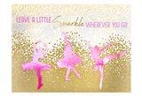 Leave a LIttle Sparkle v2 Art Print