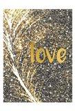 Gold Feather 3 Art Print