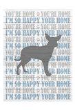 You're Home v2 Art Print