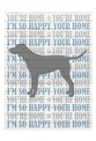 You're Home v4 Art Print