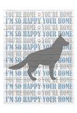 You're Home v5 Art Print