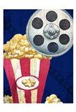 Movie Time 2 Art Print