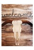 Longhorn Welcome Art Print
