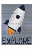 Space Explorer 1 Art Print