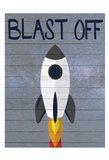 Space Explorer 2 Art Print