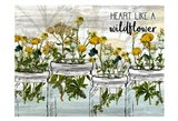 Wildflower Jar 6 Art Print