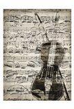 Music Sheets 1 Art Print
