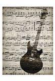 Music Sheets 3 Art Print