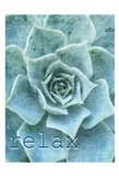 Relax and Breathe 1 Art Print