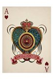 Playing Cards 1 Art Print