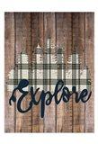 Explore Woods 2 Art Print