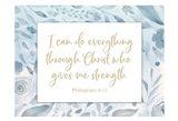 Christ Strength Art Print