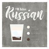 White Russian Art Print