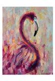 Flamingo Bliss 1 Art Print
