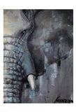 Majestic Pachyderm 2 Art Print