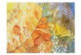 Mineral Wood Art Print