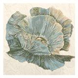 Sapphire Bloom 2 Art Print