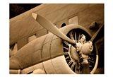 Plane Engine 1 Art Print