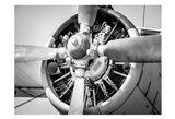 Plane Engine 3 Art Print