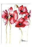 Amapola Roja 3 Art Print