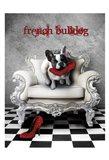 French Princess Bulldog 82453 Art Print