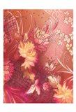Crimson Collage 5 Art Print
