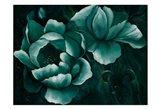 Emerald Moonlit 1 Art Print