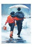 ShenLi's Romance In The Rain Art Print
