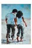 ShenLi's Romance By The Ocean Art Print