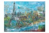 Paris in the Afternoon Art Print