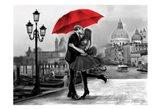 Venice Kiss Art Print