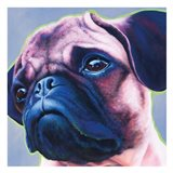 Blue Bulldog 82486 Art Print