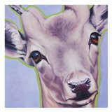 Lilac Deer 82490 Art Print