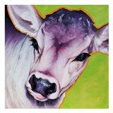 Green Calf 82493 Art Print