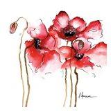 Amapola Roja 1 Art Print
