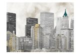 Sleepless City 1 Art Print