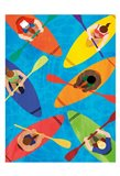 Kayak Traffic 2 Art Print