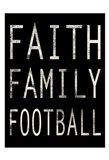 Sporty Faith 1 Art Print